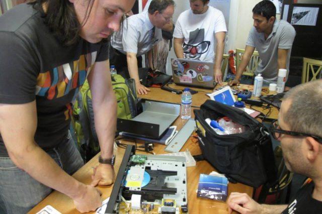 Repairing a CD player