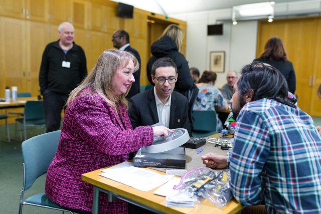 Restart Party at Portcullis House, in the Parliament on 8th November 2016