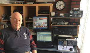 Alvin with HAM radio