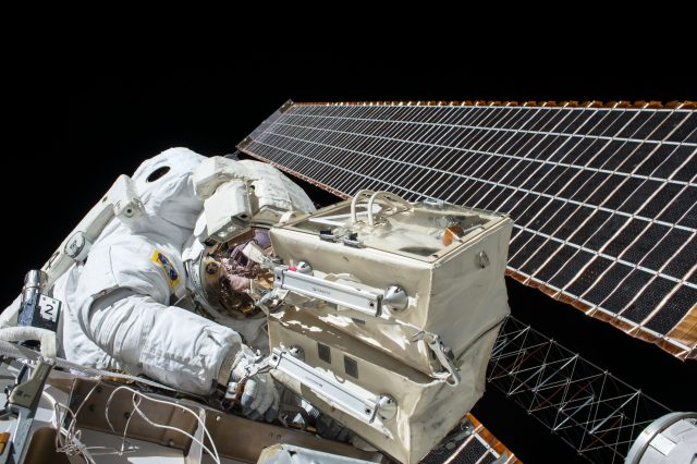 Will jobs become like less-glamorous space walks - NASA photo of space walk
