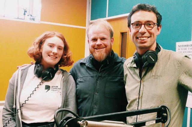 Glasgow Repair Cafe on radio