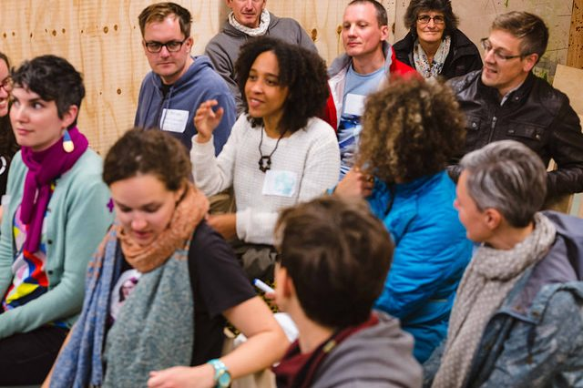 Plenary session at Fixfest UK
