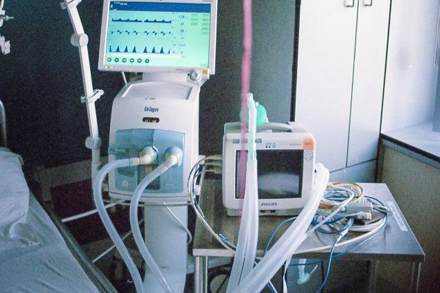 hospital ventilator