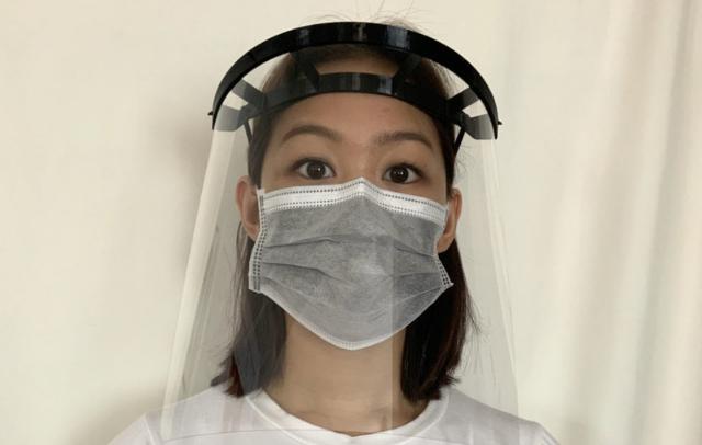A Glia face shield